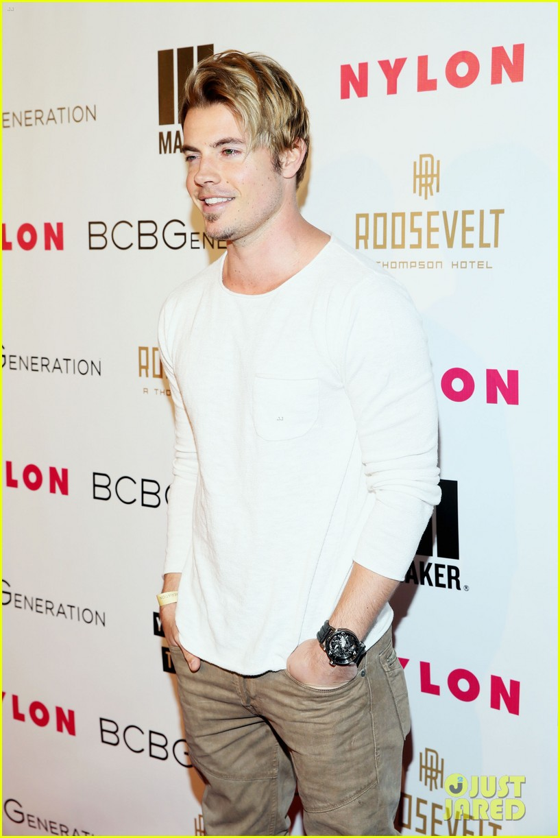 jesse metcalfe josh henderson bring the heat to the nylon party 09