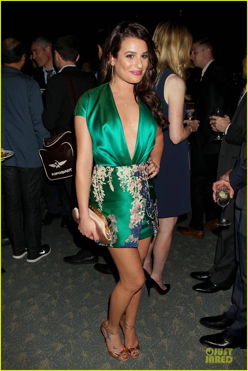 lea michele jonathan groff normal heart after party 01