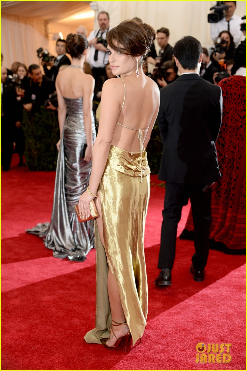 lea michele dianna agron met ball 2014 063106063