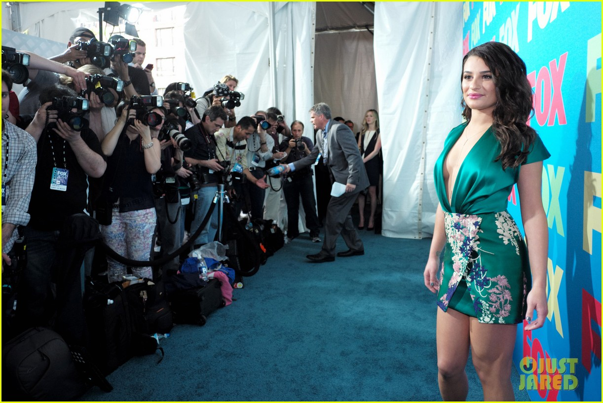 lea michele darren criss fox upfronts 2014 163111856