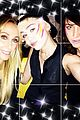 miley cyrus facepaint mom tish birthday celebration 03