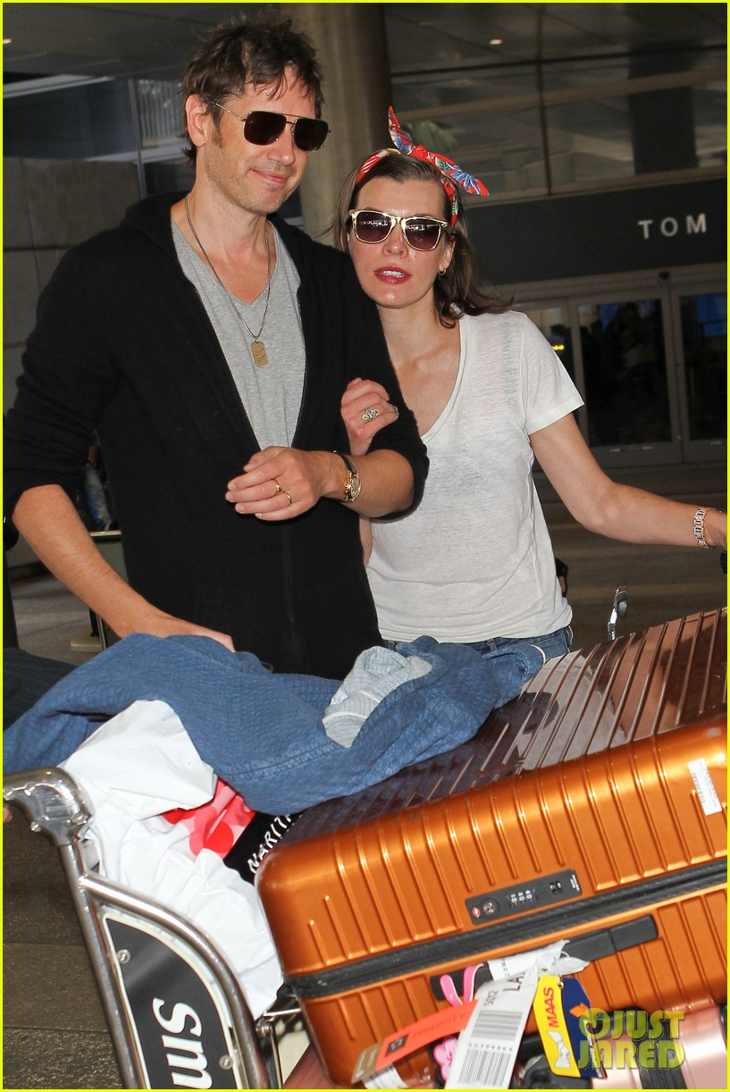 milla jovovich paul ws anderson look so in love 123123845