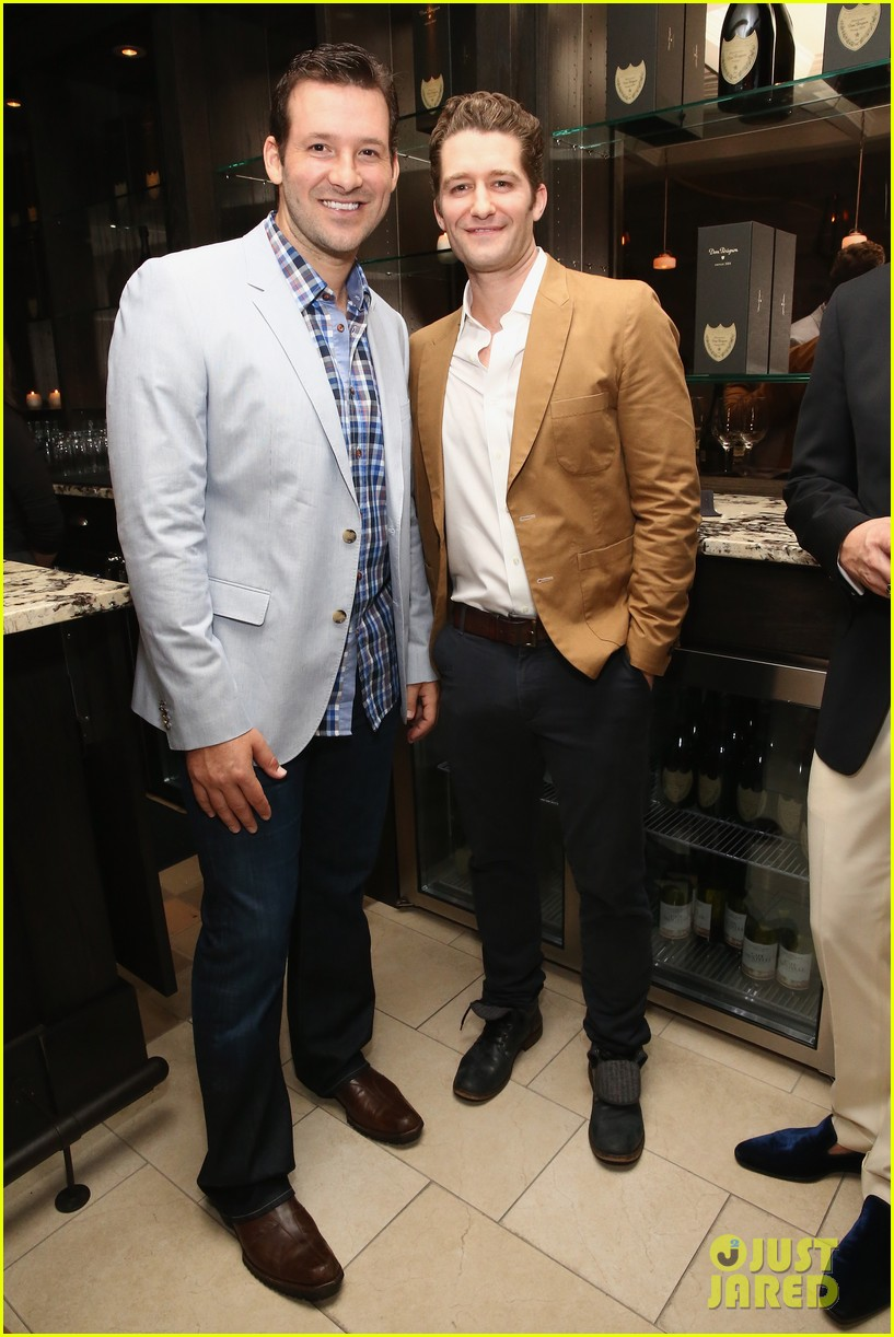matthew morrison jeremy irvine eric podwall whcd weekend party 113104397