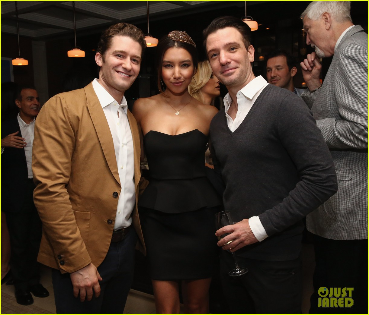 matthew morrison jeremy irvine eric podwall whcd weekend party 153104401