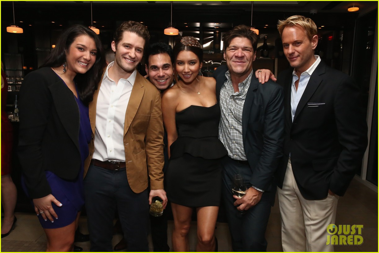 matthew morrison jeremy irvine eric podwall whcd weekend party 20