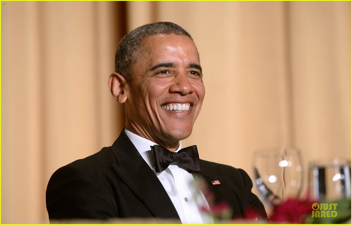 president obama shares jokes at white house correspondents dinner 2014 02