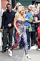 rita ora blooming floral statement in soho 23