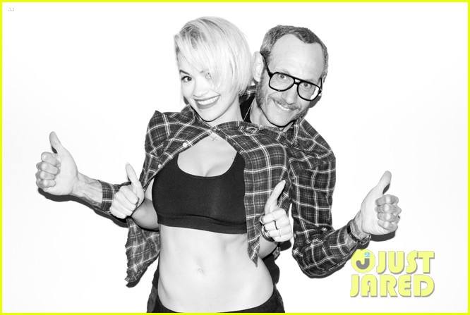 rita ora poses naked displays breasts for sexy terry richardson photo shoot 093103150