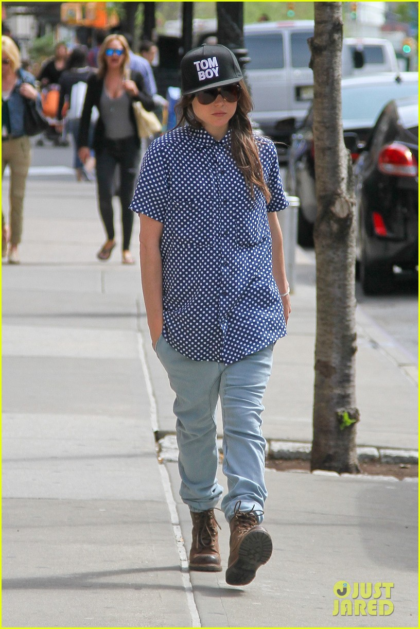 ellen page talks life after coming out 053108415