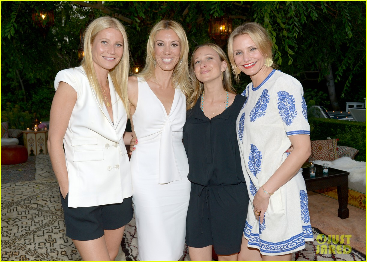 gwyneth paltrow cameron diaz show their support for vicky vlachonis 09