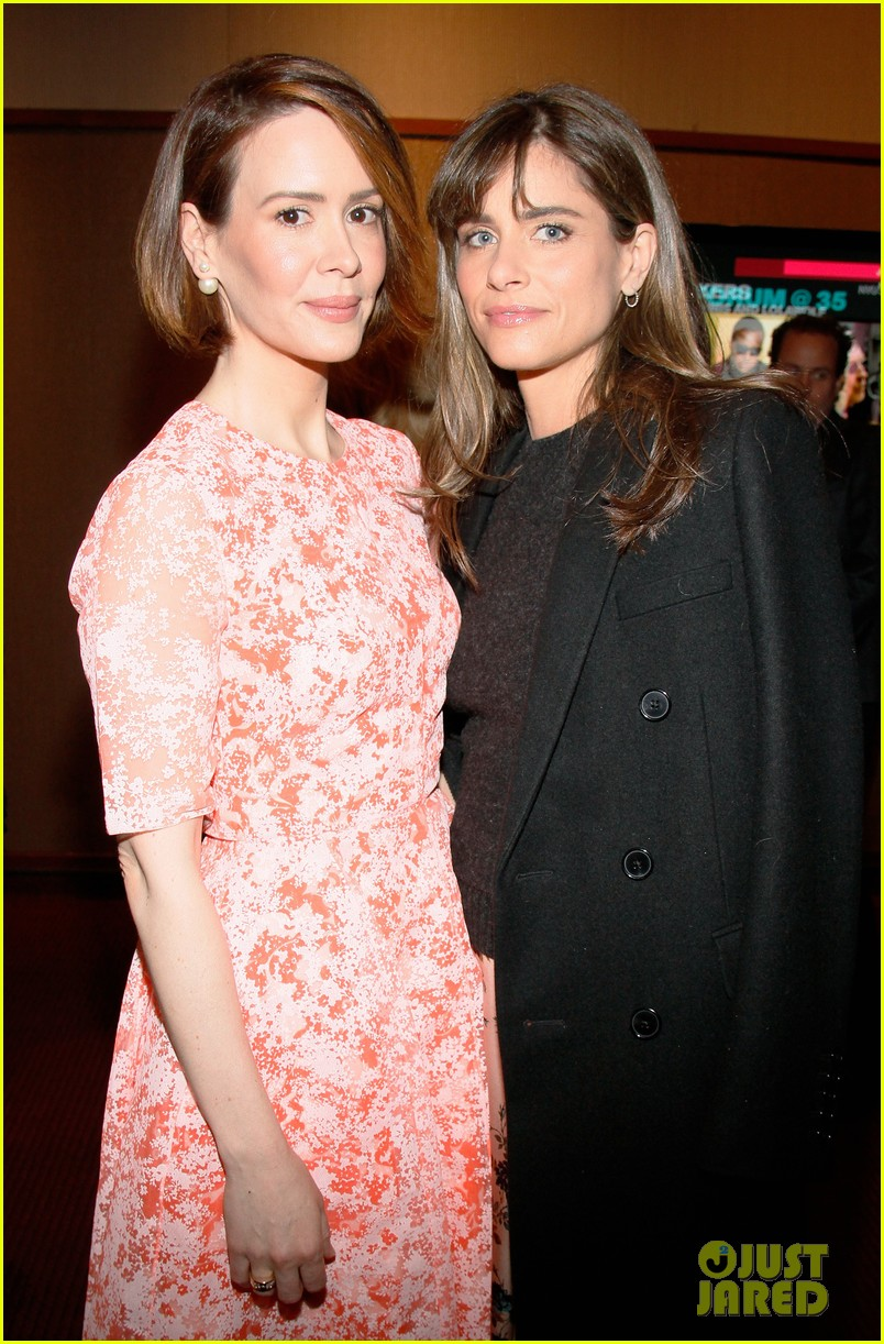 sarah paulson lily rabe present at lucille lortel awards 153105418