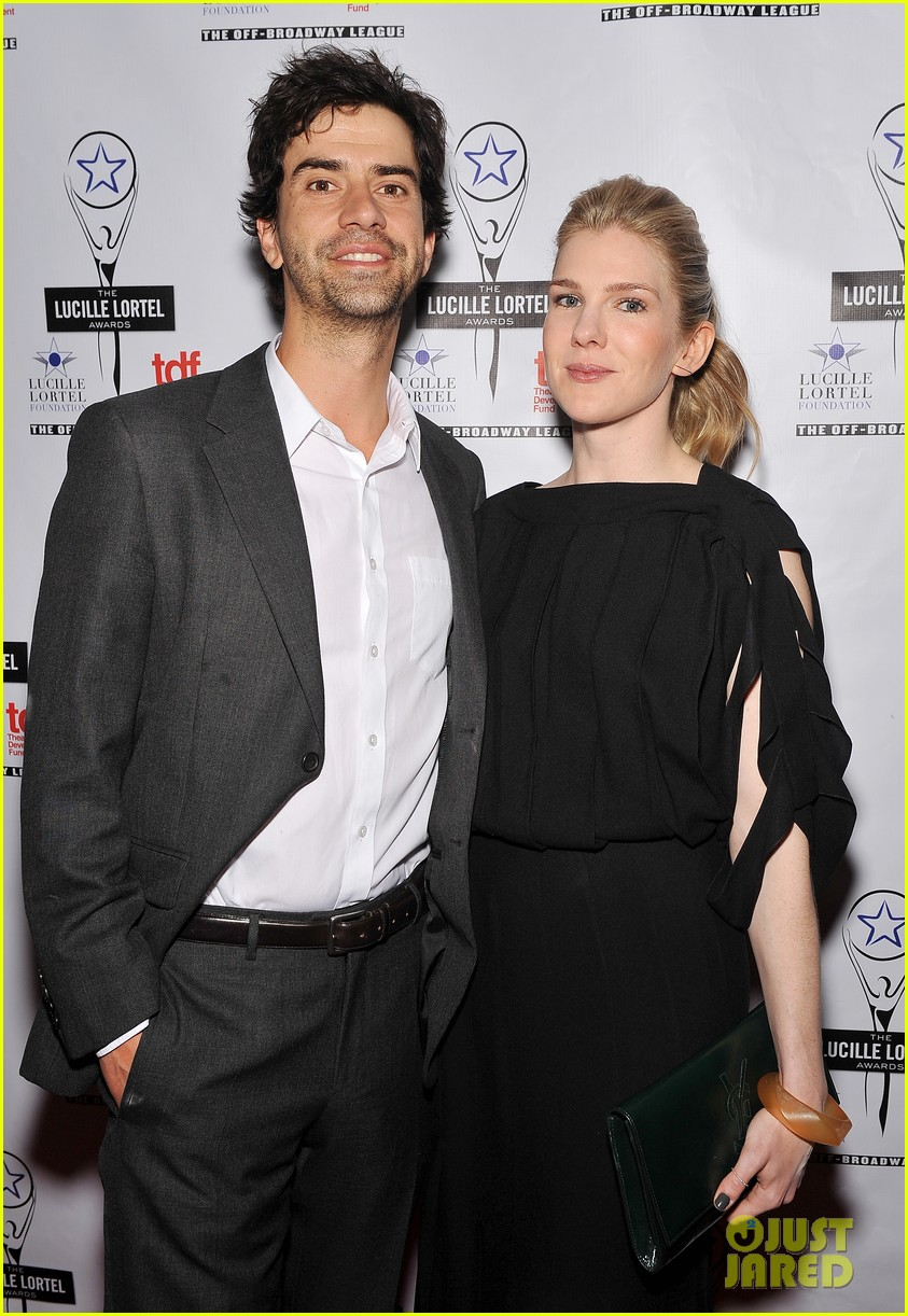 sarah paulson lily rabe present at lucille lortel awards 18