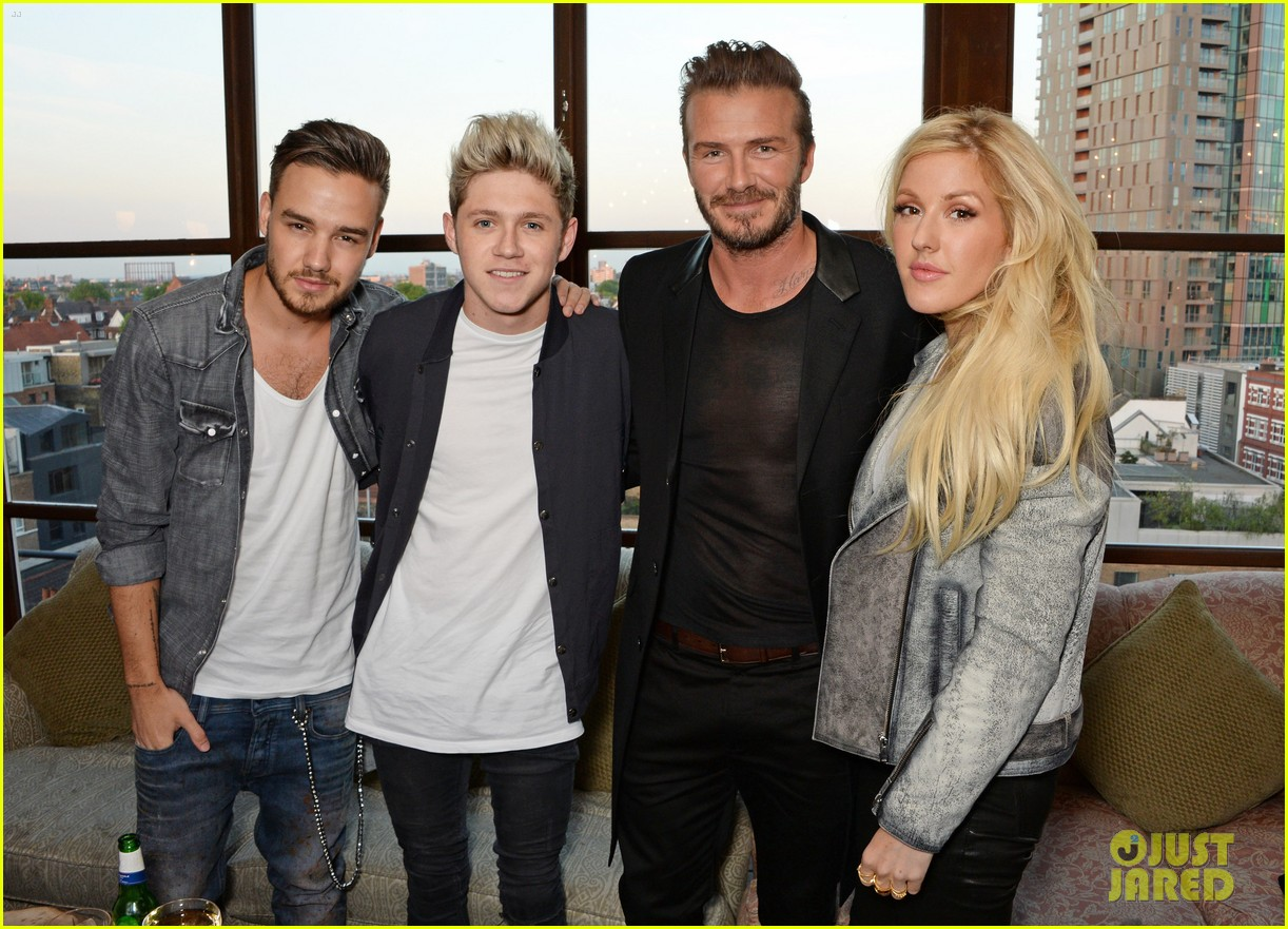 liam payne niall horan rep one direction at david beckhams swimwear launch 053113984
