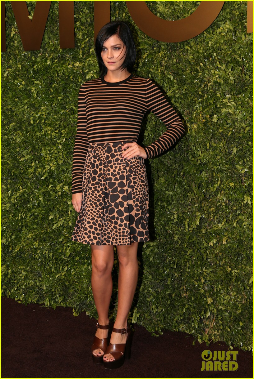 freida pinto camilla belle more step out to support michael kors 113109561