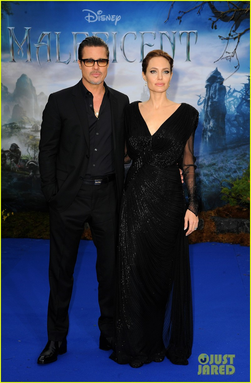 brad pitt angelina jolie maleficent london 013108711