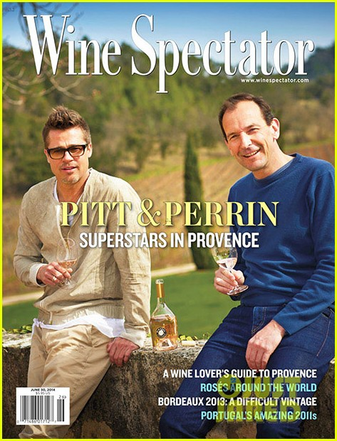 brad pitt covers wine spectator mag 02