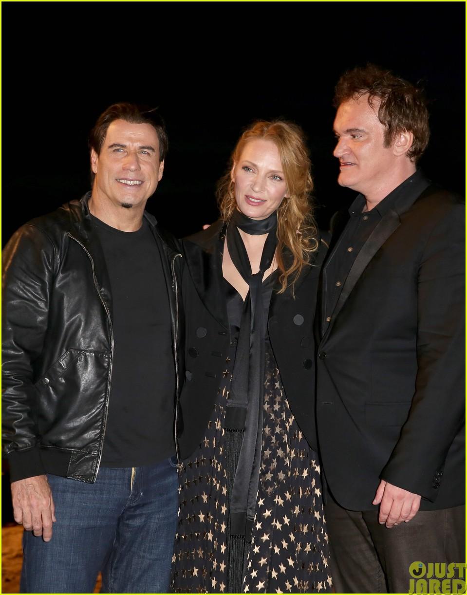 uma thurman john travolta and quentin tarantino reunite for pulp fiction screening at cannes063120831