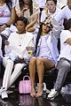 rihanna cheers on lebron james at nets heat game 20
