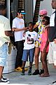 rihanna thinks summer needs to slow down a little in la 26