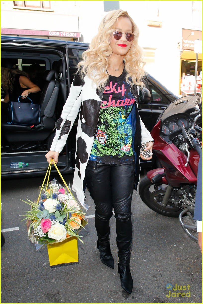 rita ora basket flowers pink dress 203109940
