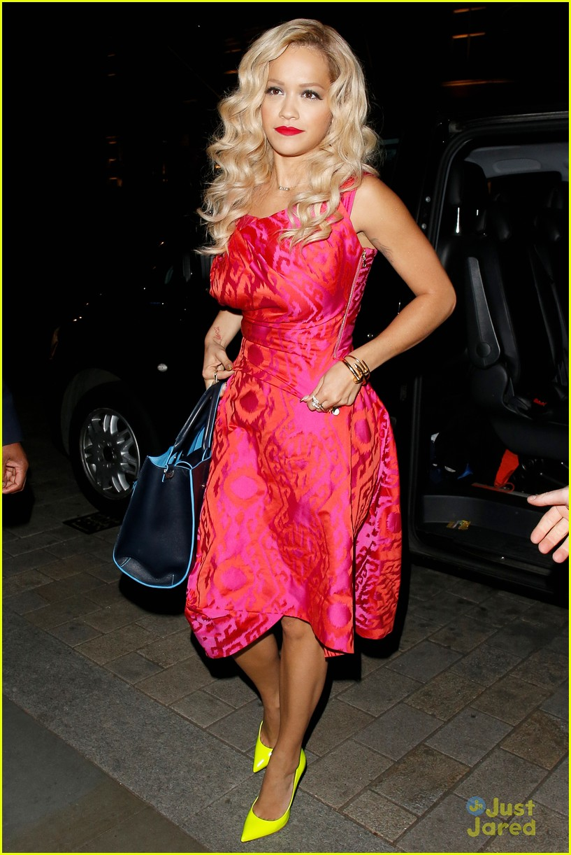 rita ora basket flowers pink dress 213109941
