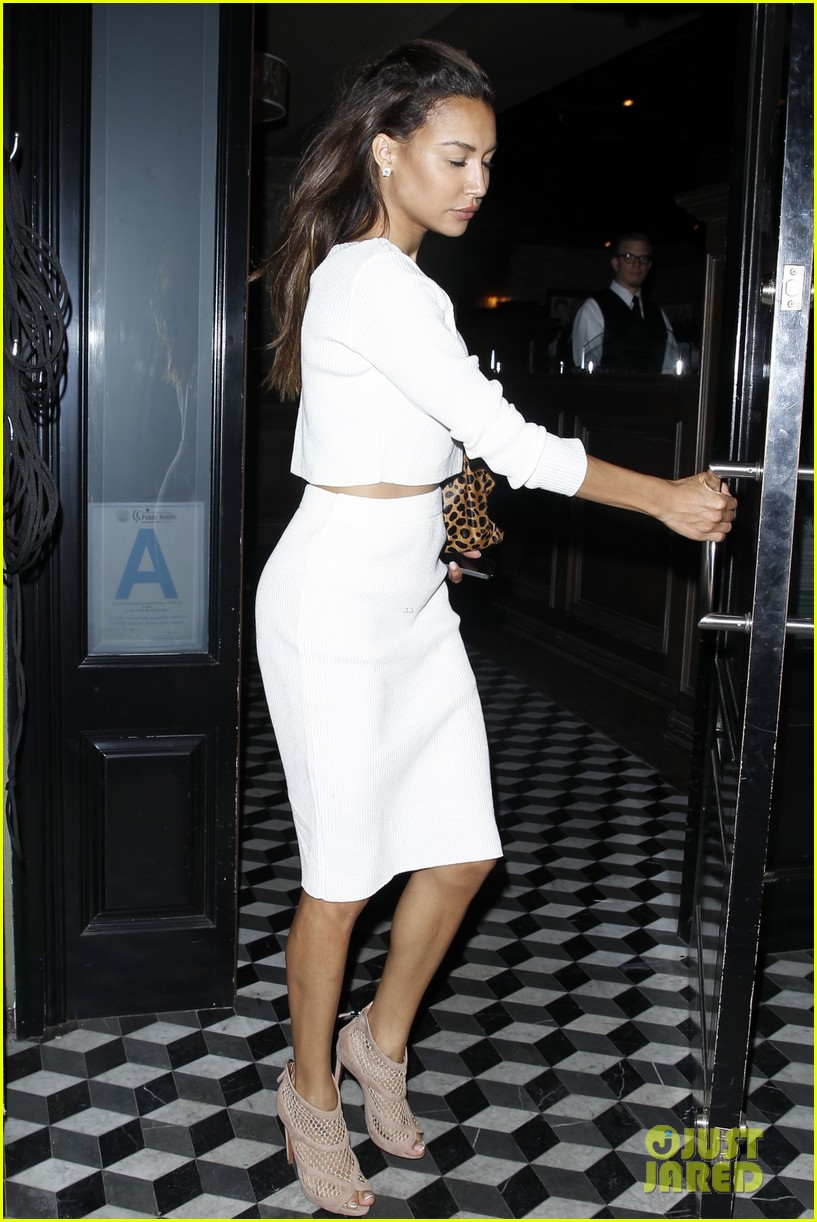 naya rivera dinner out craigs 103124684