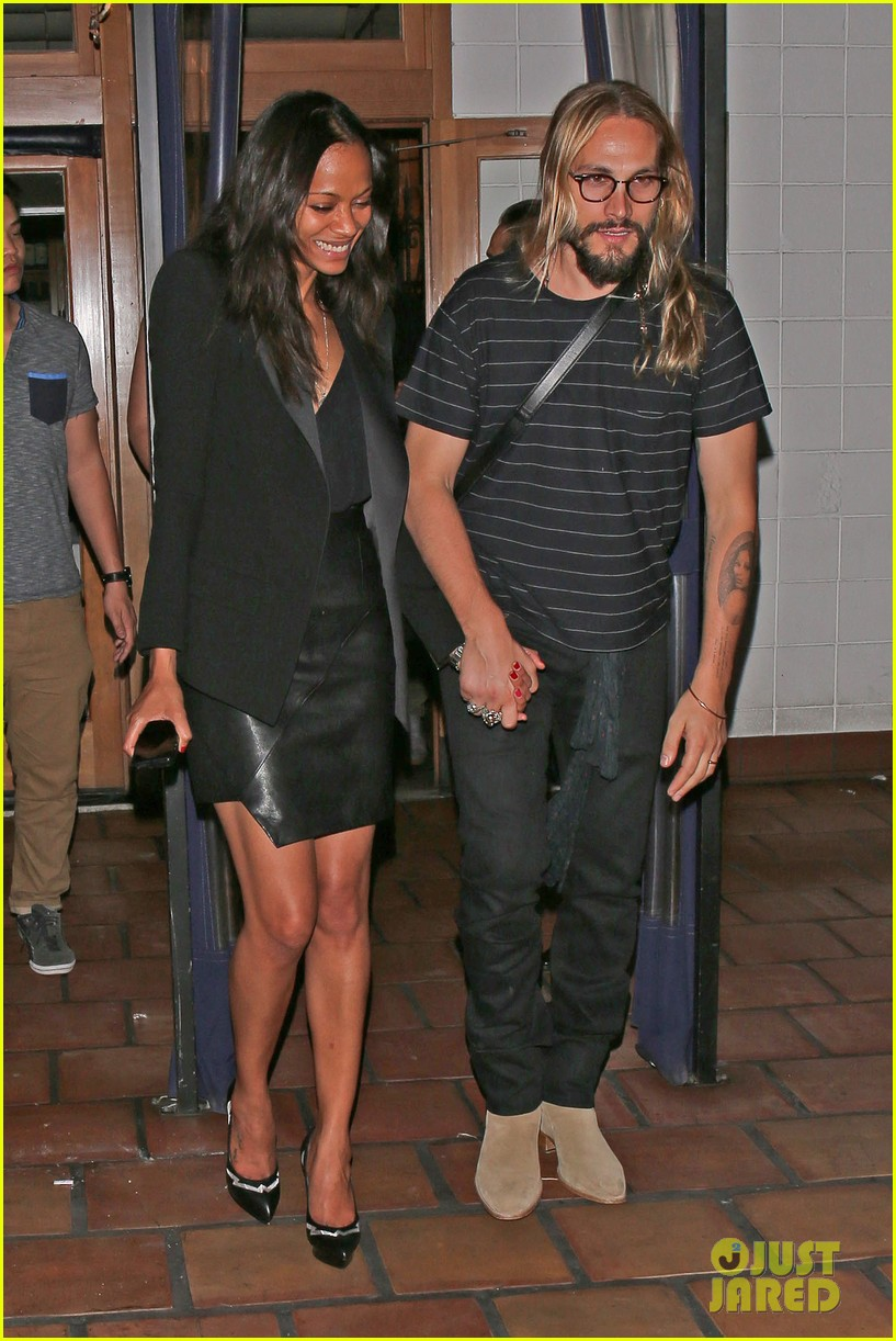 zoe saldana cannot contain her giggles out with marco perego 043105236