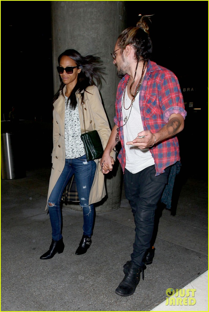 zoe saldana hubby marco perego return to l a after cannes 01