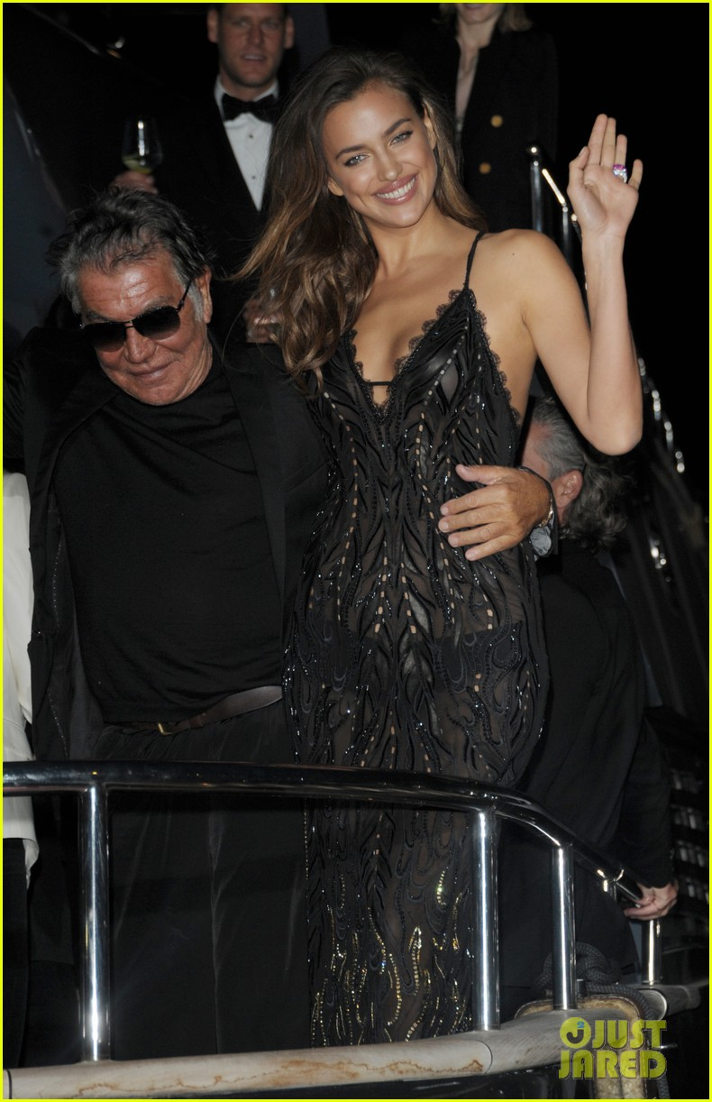 irina shayk green goddess at search premiere cannes 233119651