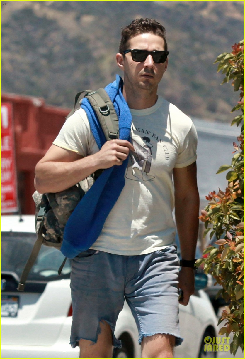 shia labeouf shaves off beard see pics 073118442