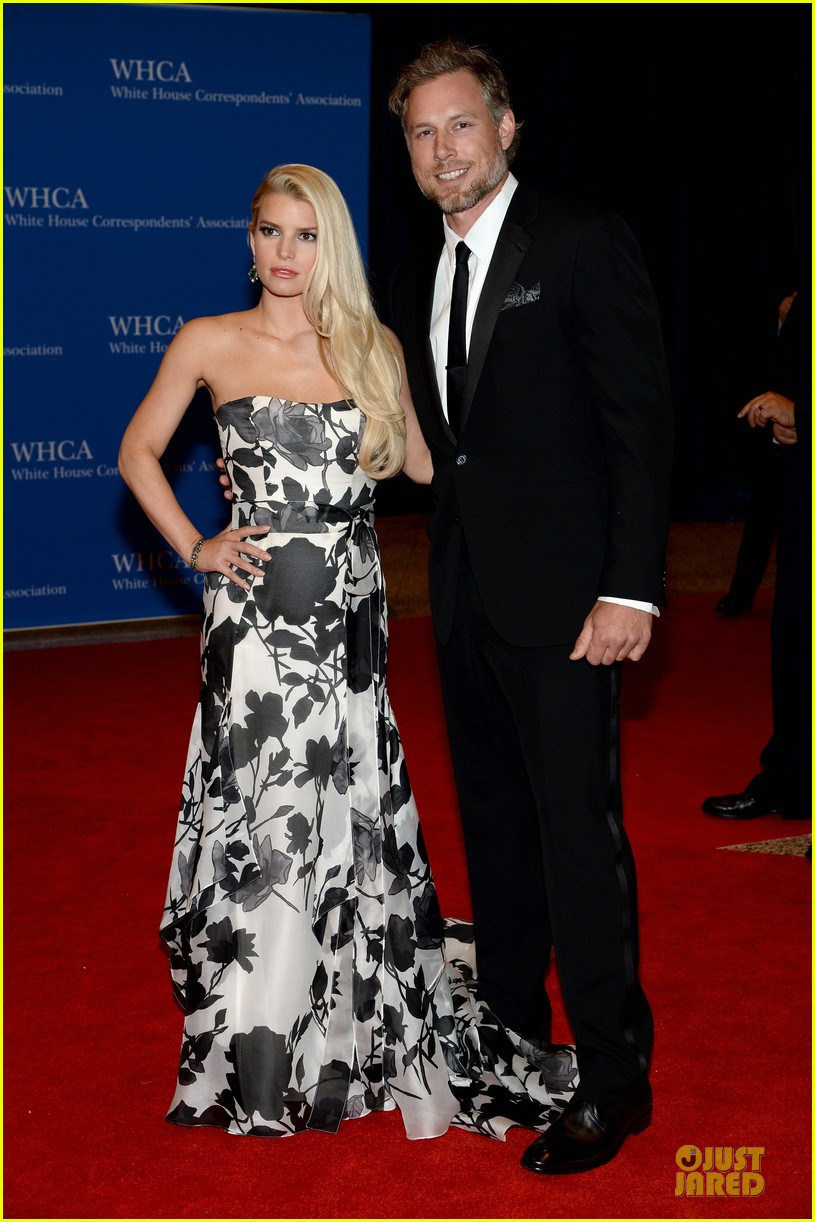 jessica simpson eric johnson white house correspondents dinner 2014 063104635