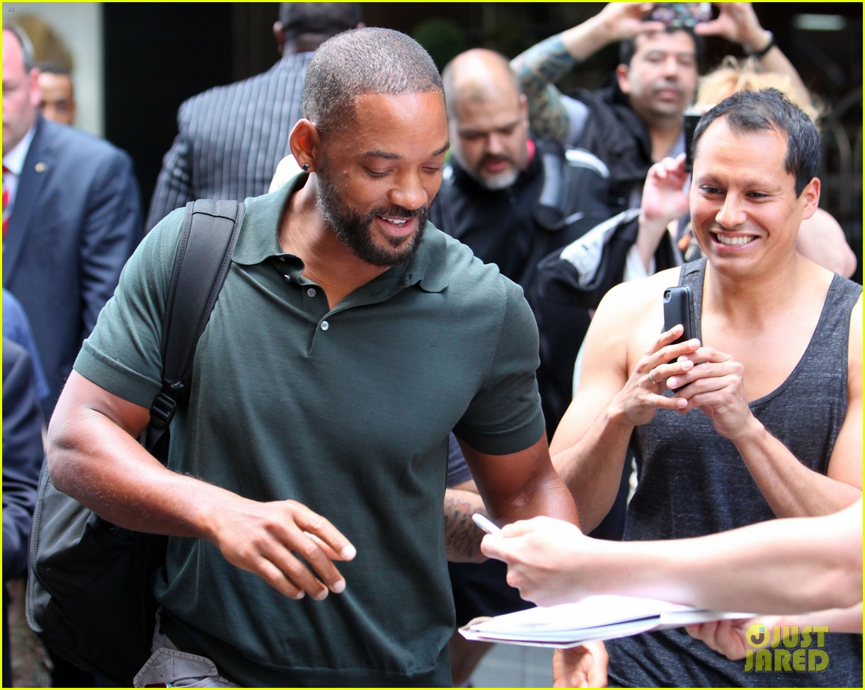 will smith joins wife jada in new york city for fox upfronts 20