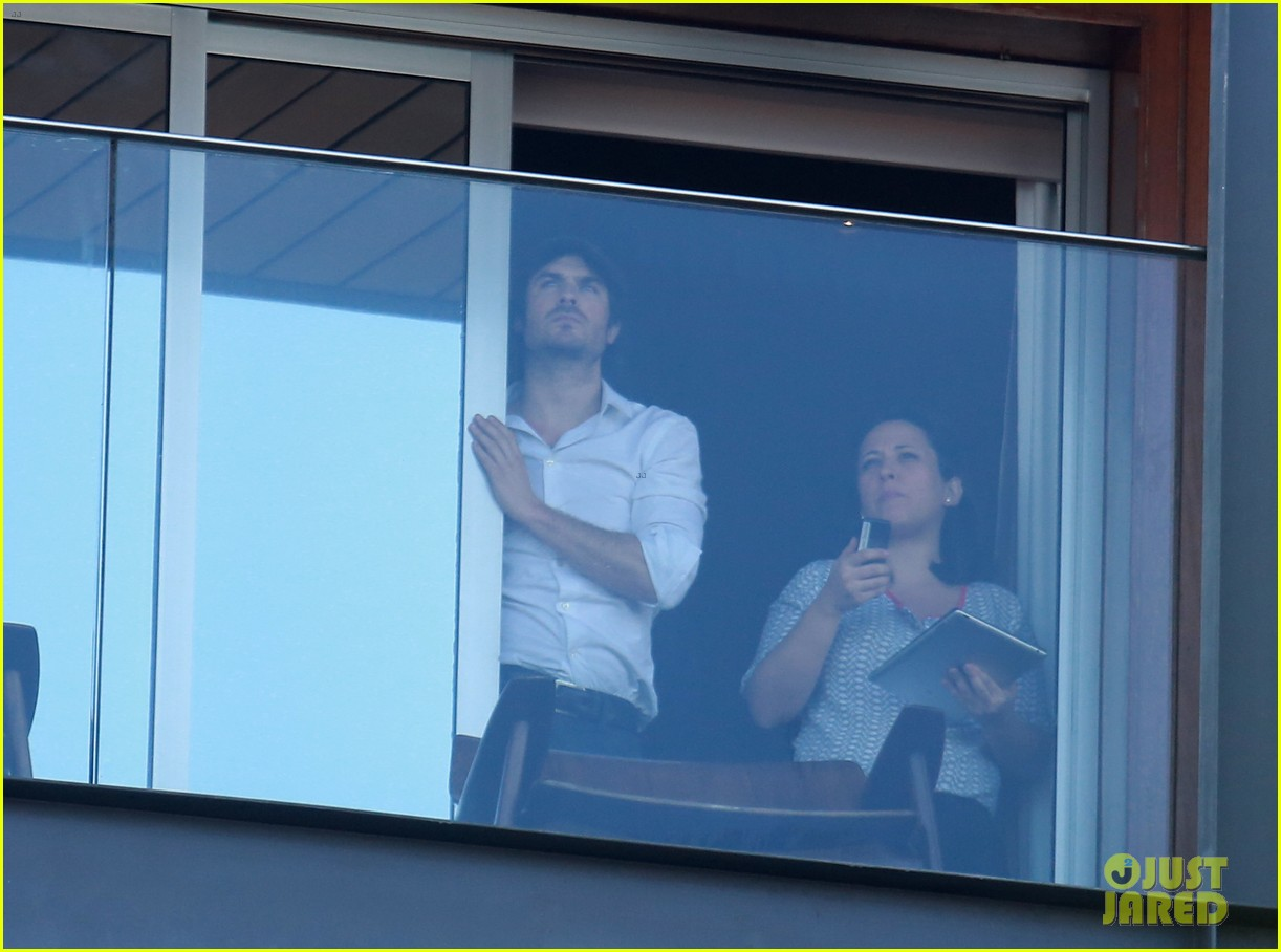 ian somerhalder blows kisses to fans from rio hotel balcony 153125059