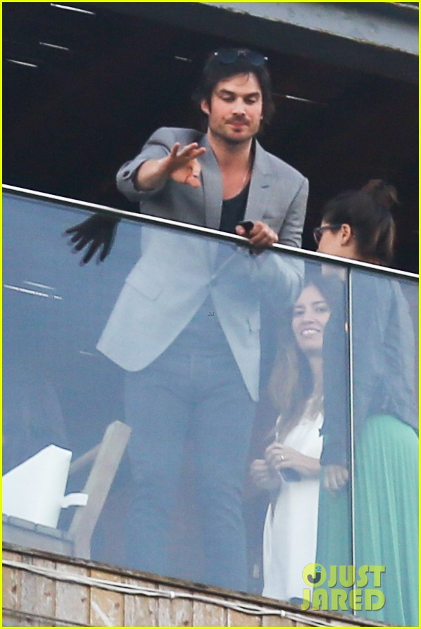 ian somerhalder blows kisses to fans from rio hotel balcony 21
