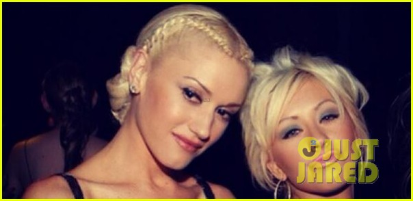 gwen stefani congratulates christina aguilera on pregnancy 053103060