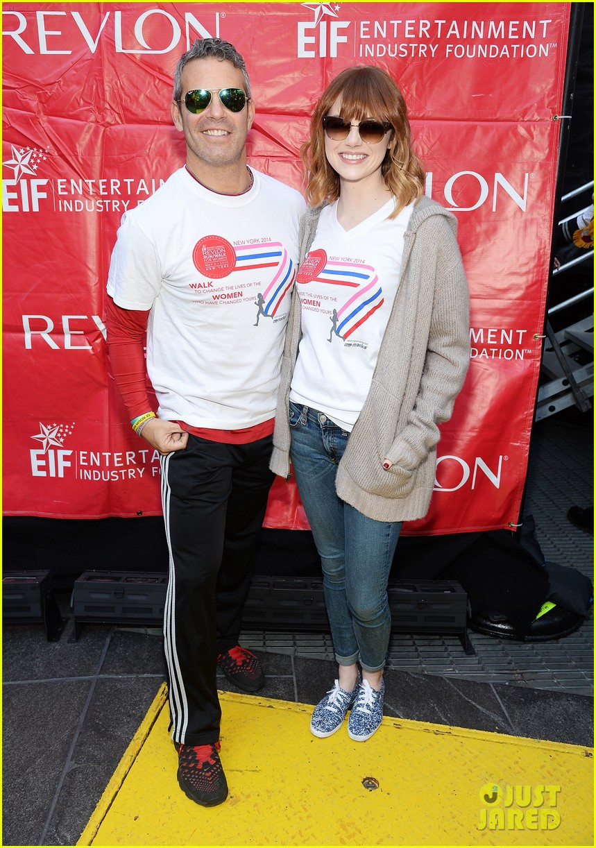 emma stone revlon run walk for women 13
