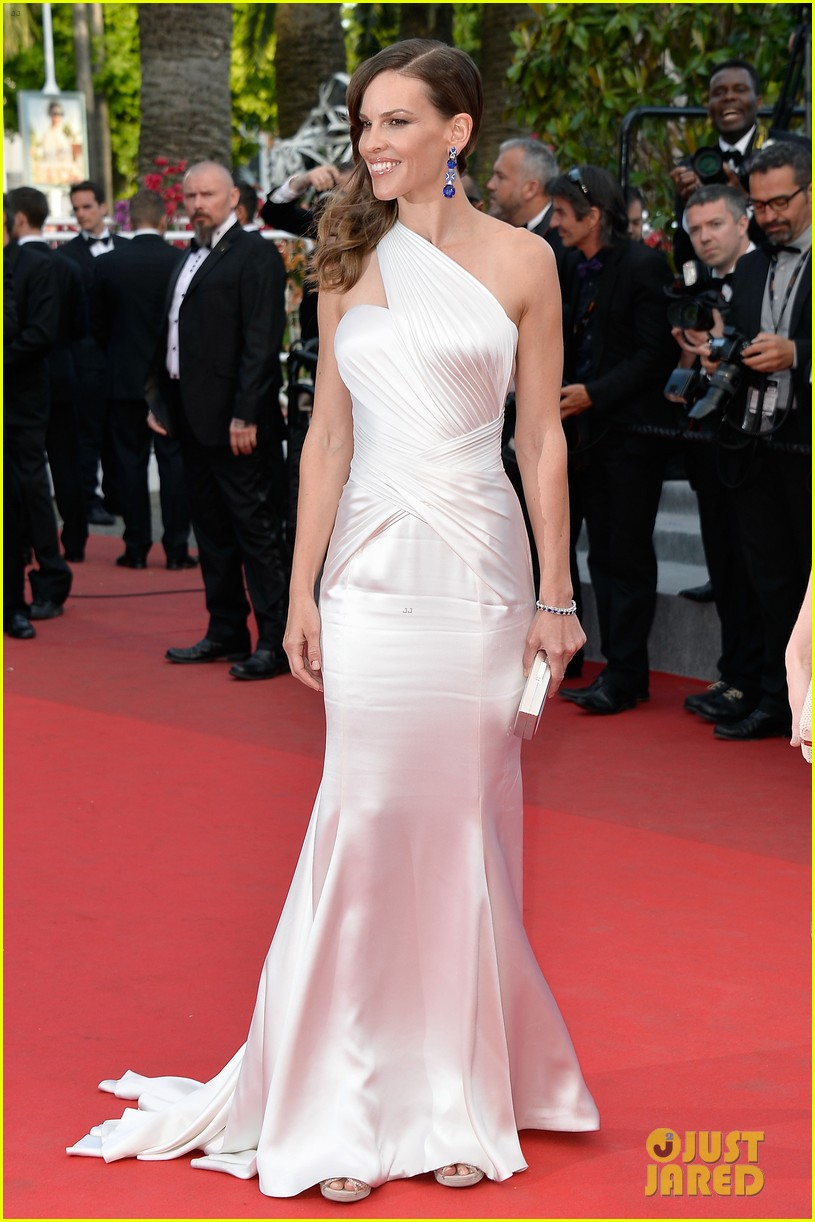 hilary swank the homesman premiere photo call cannes 01