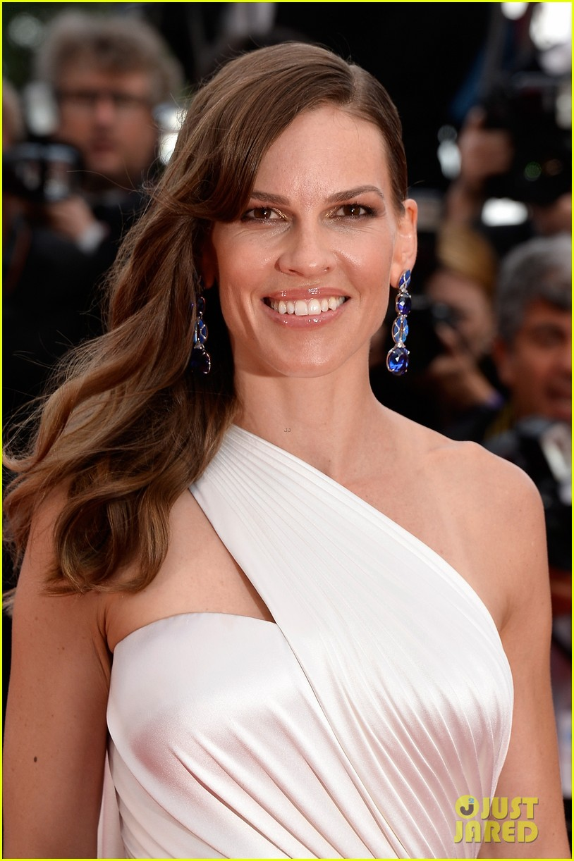 hilary swank the homesman premiere photo call cannes 04