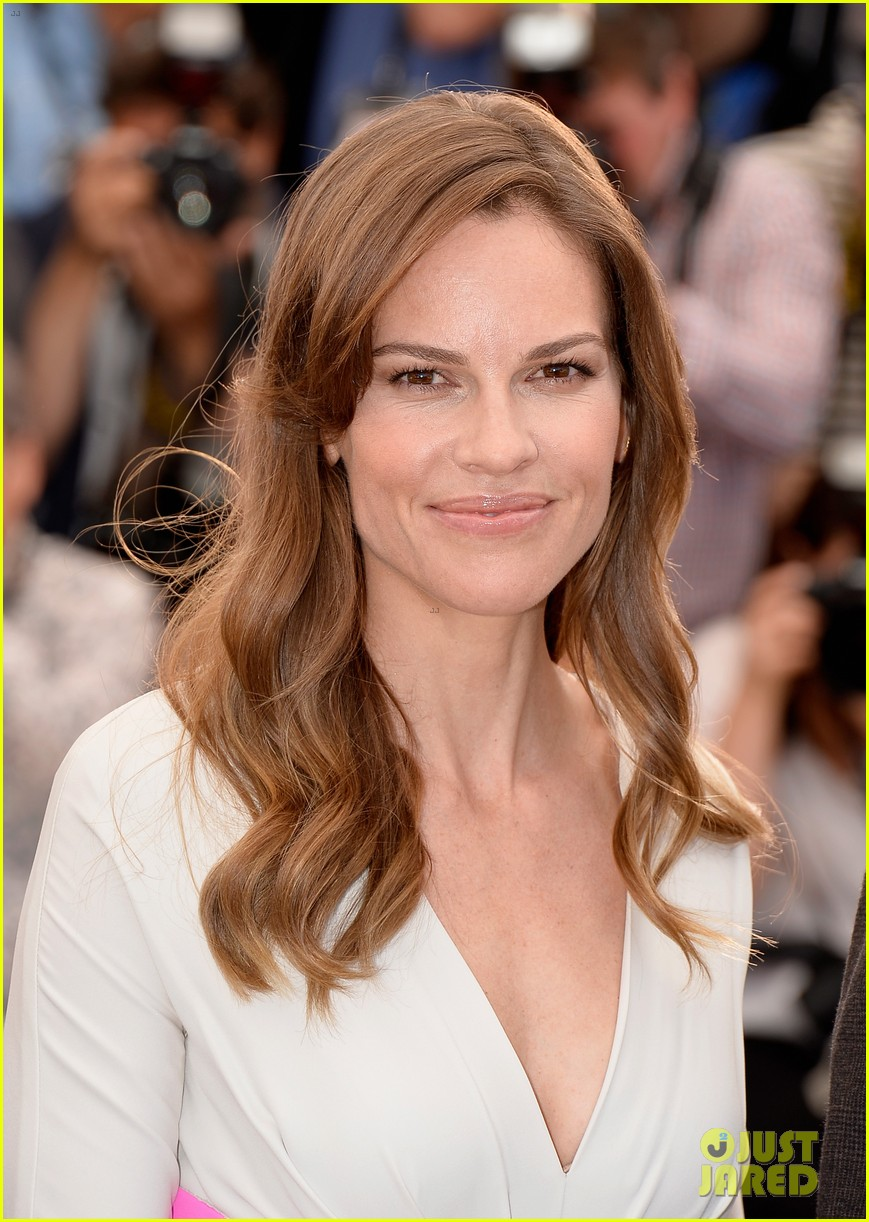 hilary swank the homesman premiere photo call cannes 23
