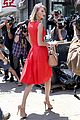 taylor swift red dress meredith met gown 03