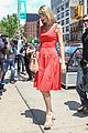 taylor swift red dress meredith met gown 11