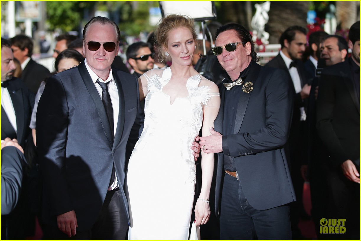 uma thurman adrien brody cannes closing ceremony 11