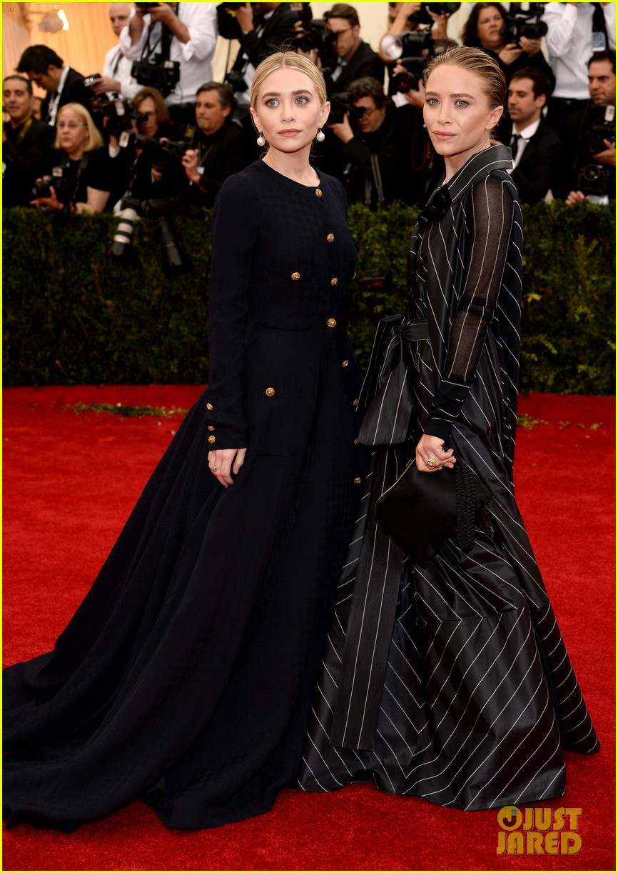 mary kate ashley olsen met ball 2014 043106207