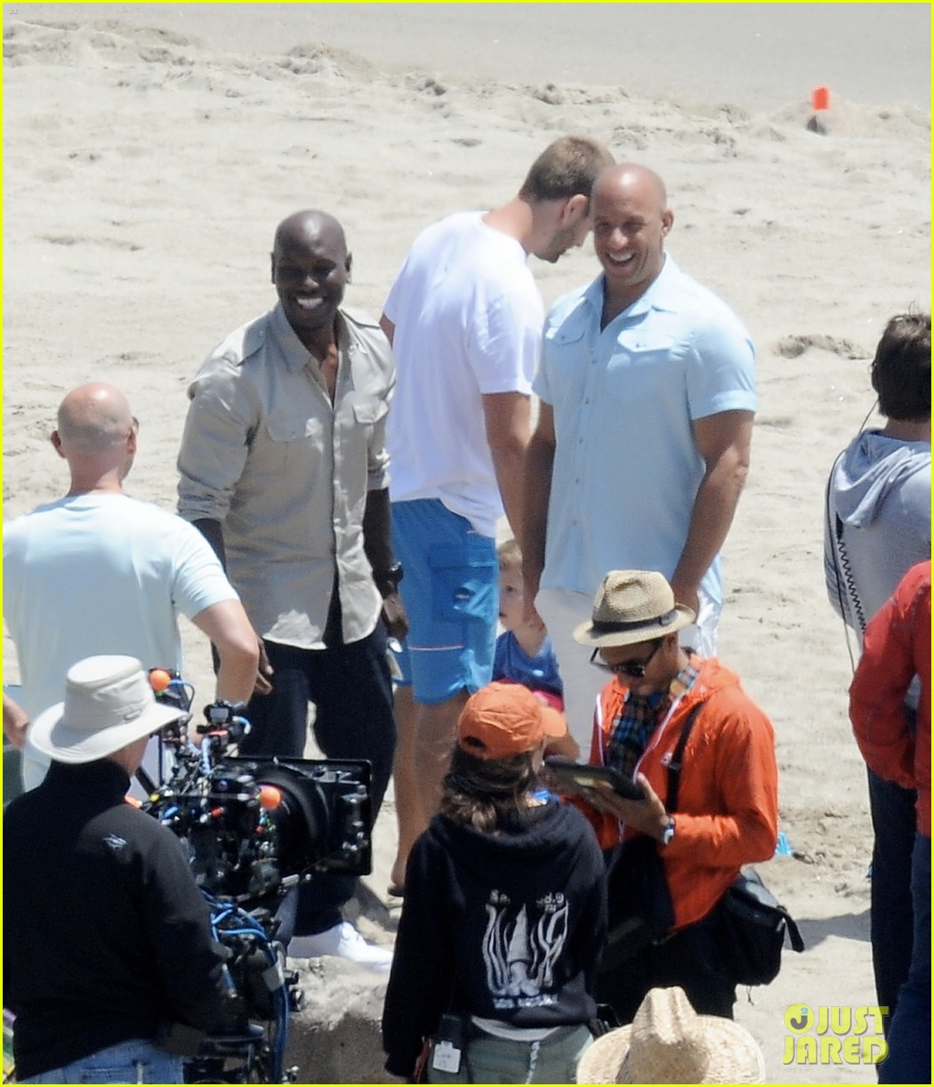paul walkers brothers get to work on fast furious 7 with the cast 05