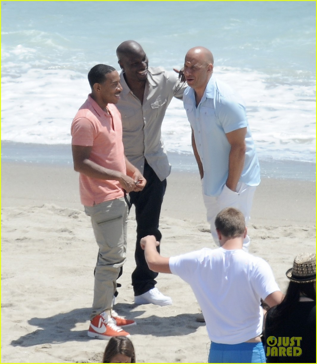 paul walkers brothers get to work on fast furious 7 with the cast 083118128