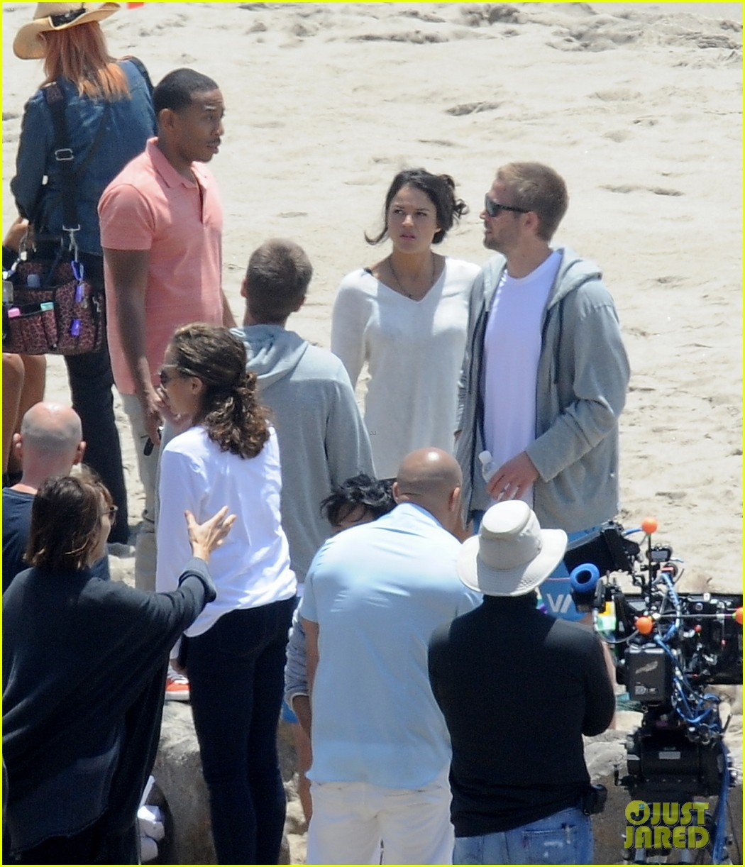 paul walkers brothers get to work on fast furious 7 with the cast 113118131