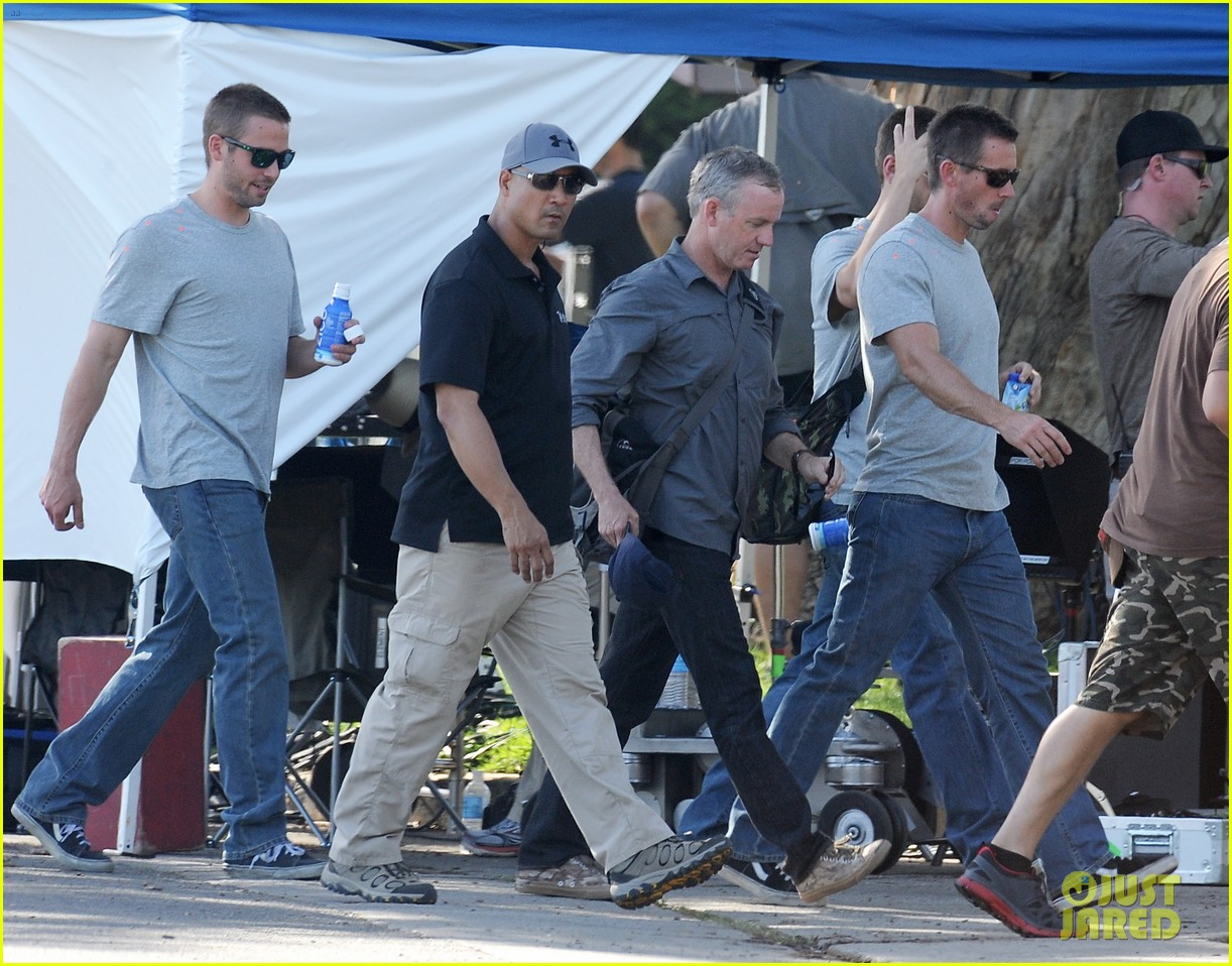 paul walker lookalike brothers spotted fast furious set 17