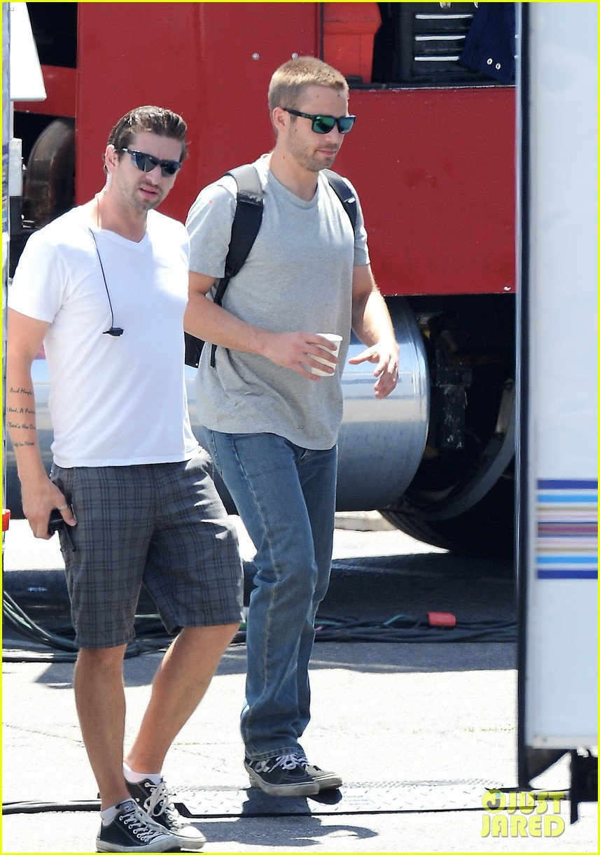 paul walker lookalike brothers spotted fast furious set 213116026