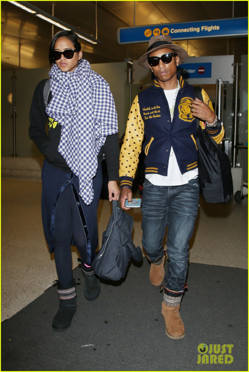 pharrell williams wife helen lasichanh look oh so serious 023124156