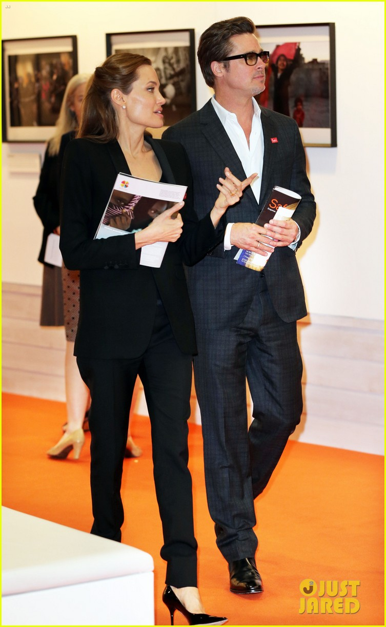 amal alamuddin brad pitt angelina jolie anti rape summit 053134104
